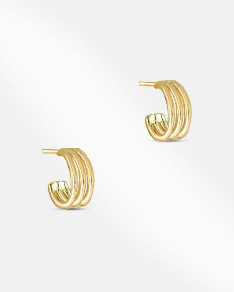 Cameron Open Mini Hoop Earrings