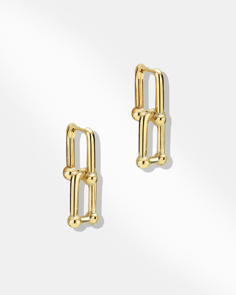 U-Buckle Earrings