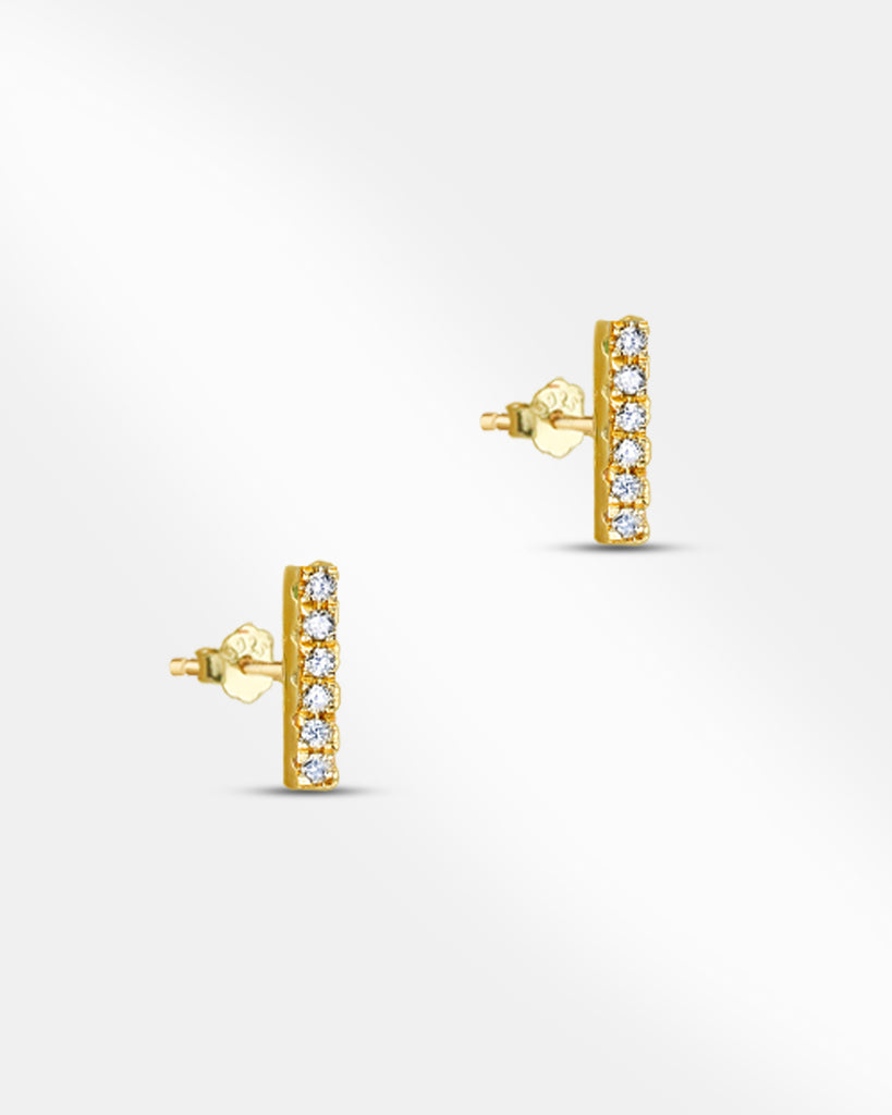 Ursula Bar Stud Earring