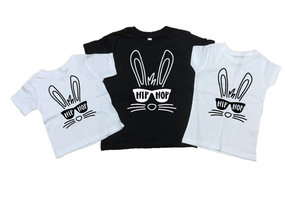 Hip Hop Bunny Toddler Tee