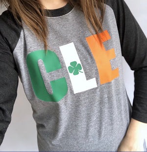 St. Patrick's Day CLE tee