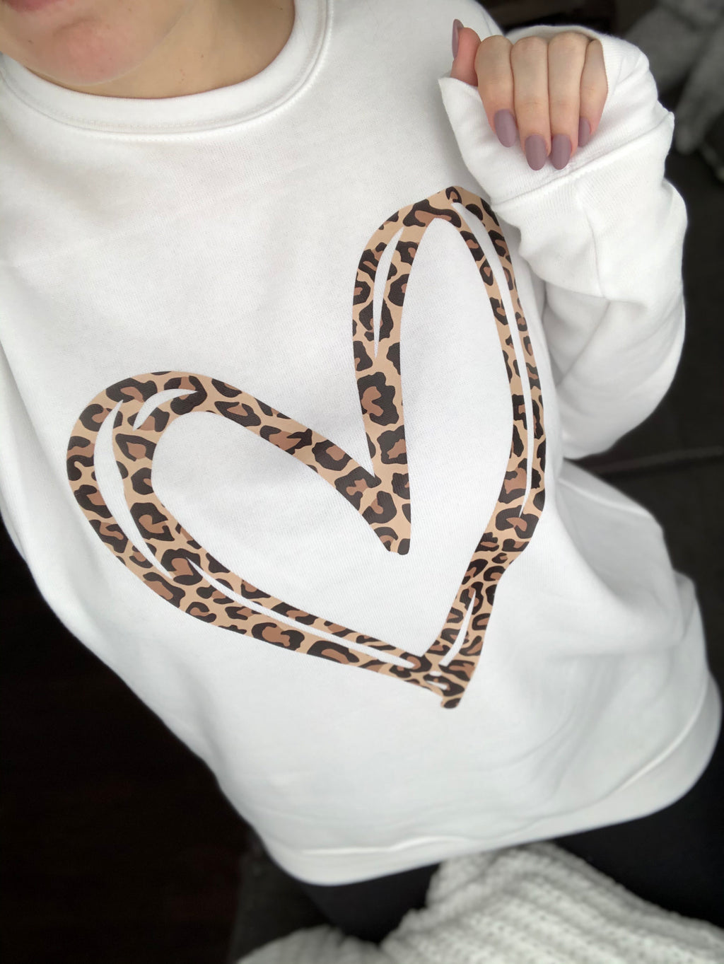 Leopard Hearts on Hearts