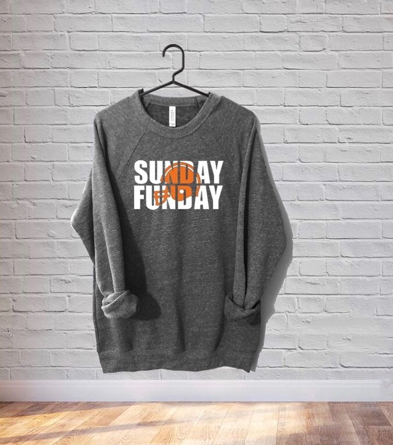 Sunday Funday Fleece Crewneck Sweatshirt
