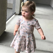 Load image into Gallery viewer, Mermaid Games Dress on toddler