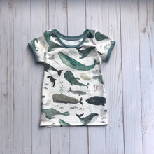 Load image into Gallery viewer, Organic Cotton Lap Neck Tee