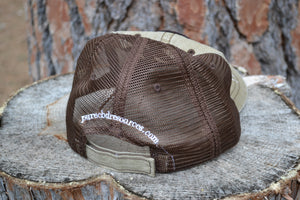 Mesh back ball cap 70/30