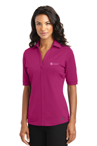 WOMEN'S POLO - Full Logo - click to see more colors