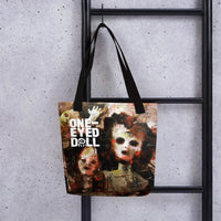 Holier Premium 360 Tote Bag - Black - bag DROPSHIPPED holier NEW tote One-Eyed Doll