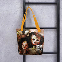 Holier Premium 360 Tote Bag - Yellow - bag DROPSHIPPED holier NEW tote One-Eyed Doll