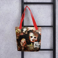 Holier Premium 360 Tote Bag - Red - bag DROPSHIPPED holier NEW tote One-Eyed Doll