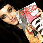 Lyric Comic Book - Be My Friend - Signed Limited Edition Of 100 - Book Featured Kimberly Freeman One-Eyed Doll
