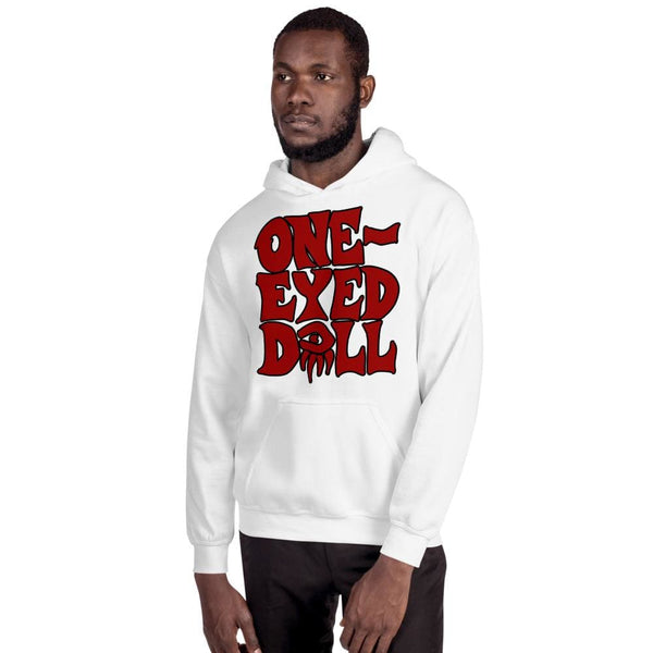 Red Logo Hoodie - Choose your color - White / S - winter One-Eyed Doll