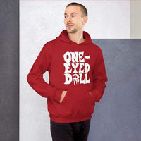 White Logo Hoodie - Choose your color - Red / S - WINTER One-Eyed Doll