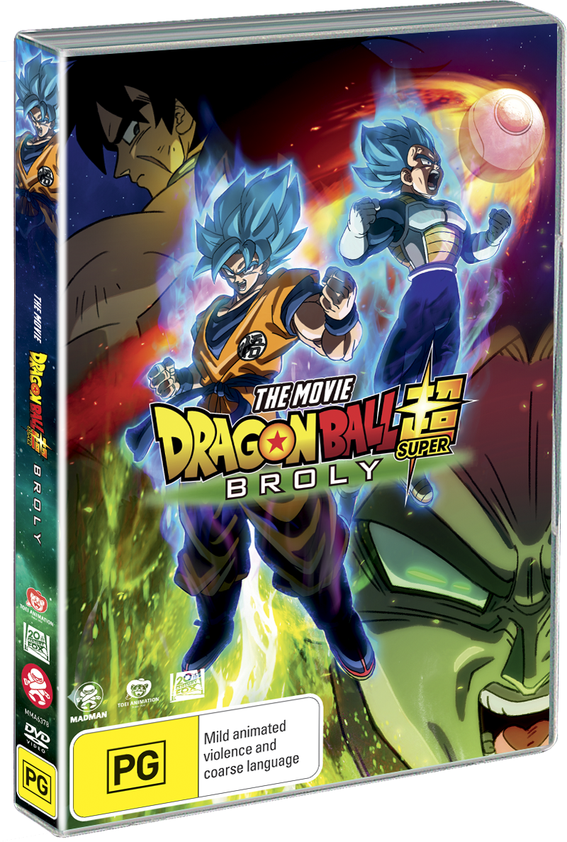 Dragon Ball Super - The Movie: Broly DVD