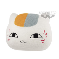 Natsume's Book of Friends - SUPER BIG FACE SHAPED PLUSH - NYANKO-SENSEI