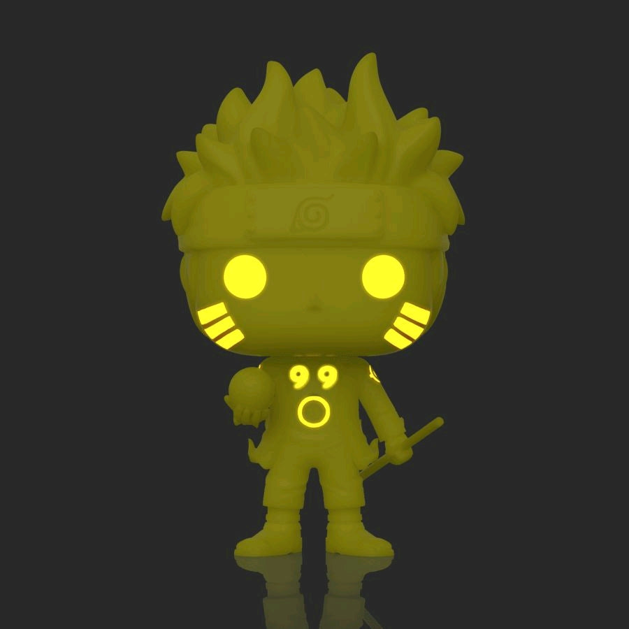 Naruto - Naruto Six Path Yellow Glow US Exclusive Pop!