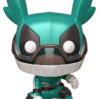 My Hero Academia - Deku with Helmet Metallic US Exclusive Pop!