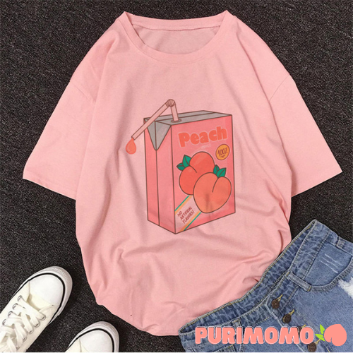 Peach Milk ー Tee *PRE-ORDER March 2021*