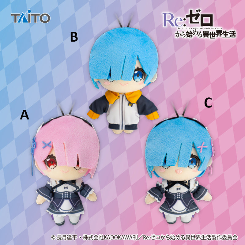 Re:Zero – Ram Maid ver. Plush Mascot A