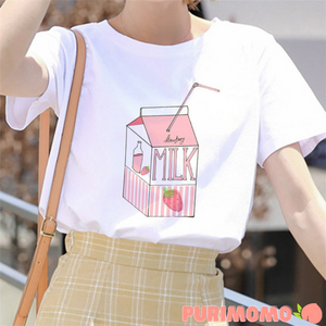 Strawberry Milk ー Tee *PRE-ORDER March 2021*