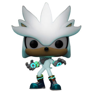 Sonic the Hedgehog - Silver Glow 30th Anniversary US Exclusive Pop!