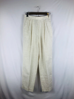 Pleated Crisp Vintage Light Pant Size: Vintage 8 *Modern Best Fits: 2/4