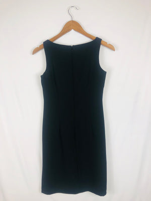Square Neck Classic Little Black Dress Size: 2 Petite
