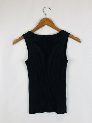 Square Neck Sweater Tank Size: Medium