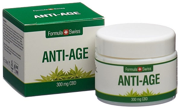 Crema hidratanta anti-imbatranire CBD, 300 mg, 30 ml