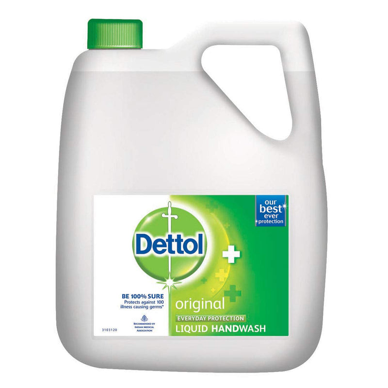 Dettol Germ Protection Liquid Handwash Refill Original 5l