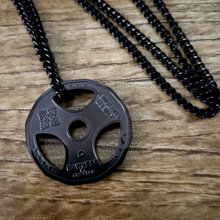 Load image into Gallery viewer, Lifter's Plate Necklace