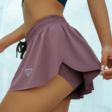 Load image into Gallery viewer, 2-in-1 Flowy Fitness Shorts