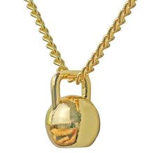 Load image into Gallery viewer, Kettlebell Pendant Necklace