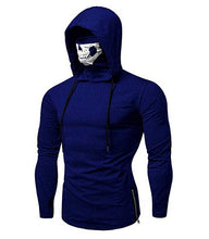 Load image into Gallery viewer, Skull Masked Long-Sleeve Hoodie