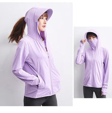 Load image into Gallery viewer, Masked Hoodie with Sun Protection