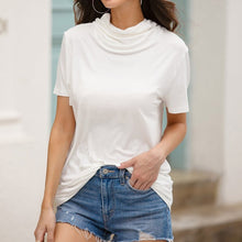 Load image into Gallery viewer, Masked Short Sleeve Blouse