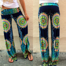 Load image into Gallery viewer, High Waisted Boho Mandala Pants - FREE SHIPPING!!!
