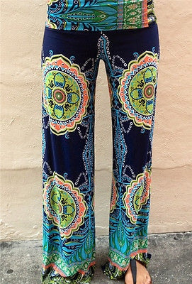High Waisted Boho Mandala Pants - FREE SHIPPING!!!