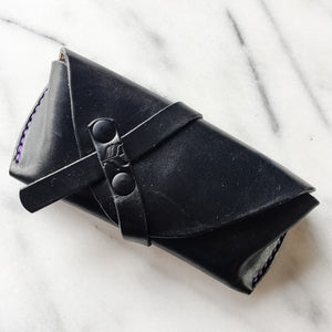 Billie Sunglass Case by Silver Fox Leather