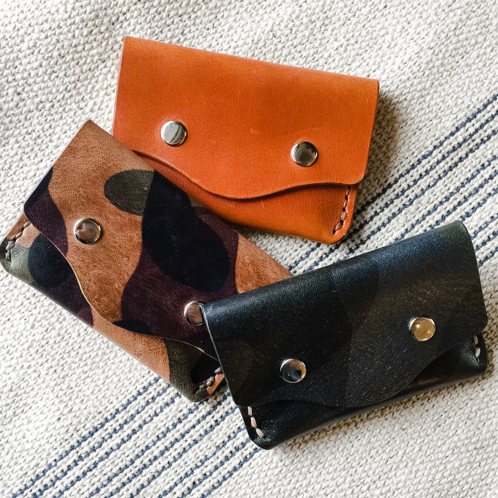Stokes Snap Wallet by Silver Fox Leather