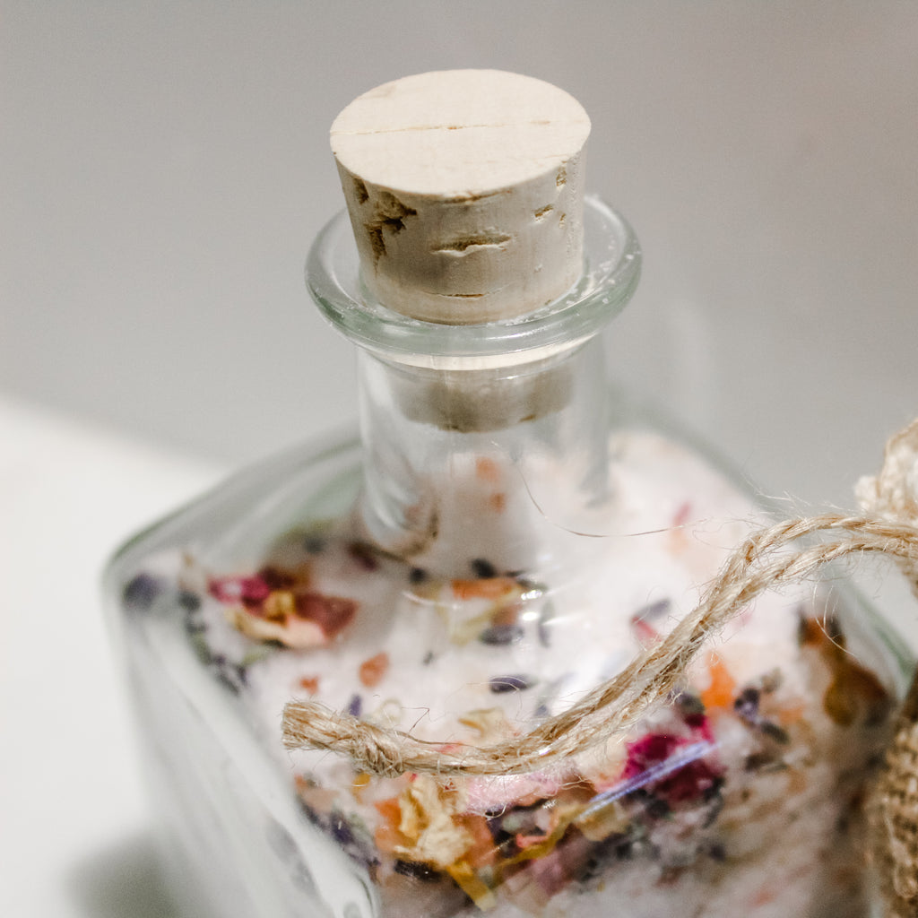 PM Floral Bath Salts: 100% Proceeds to Maury County Animal Shelter
