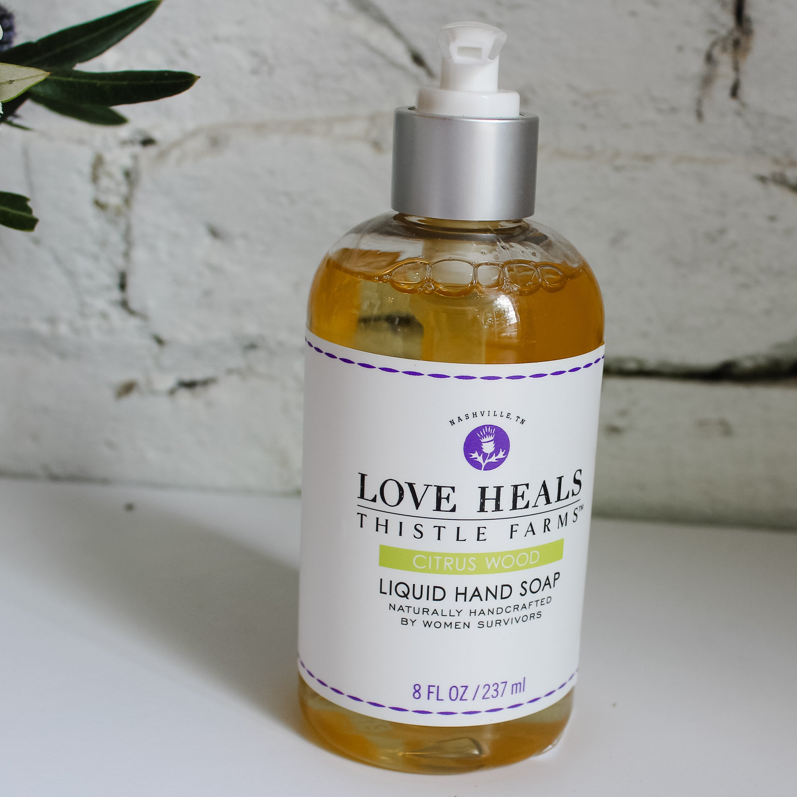 Local, all natural liquid hand soap