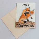 Wild Combination Fox Card