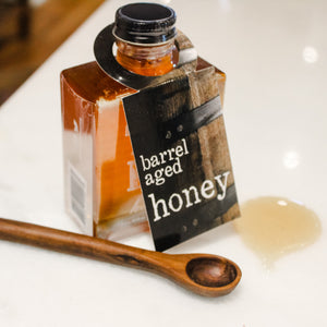 local, nashville, barrel aged honey