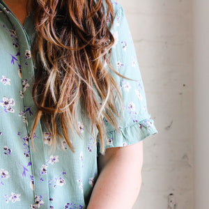 Magnolia Button Down