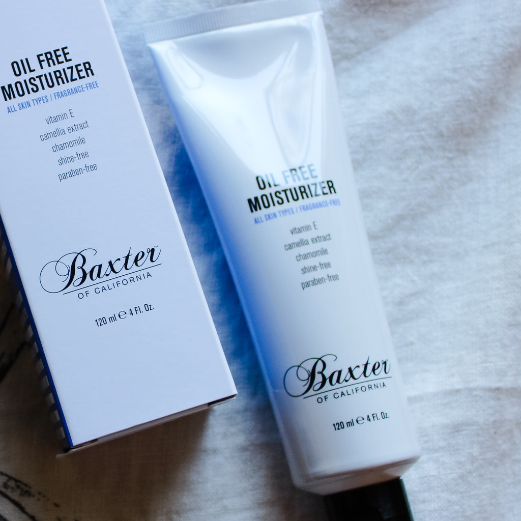 Oil Free Moisturizer, Baxter of California