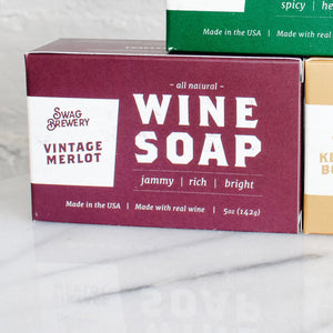 Vintage Merlot Soap by Swag Brewery