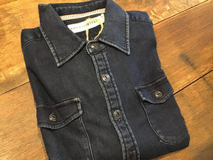 Big Jake Indigo Knit