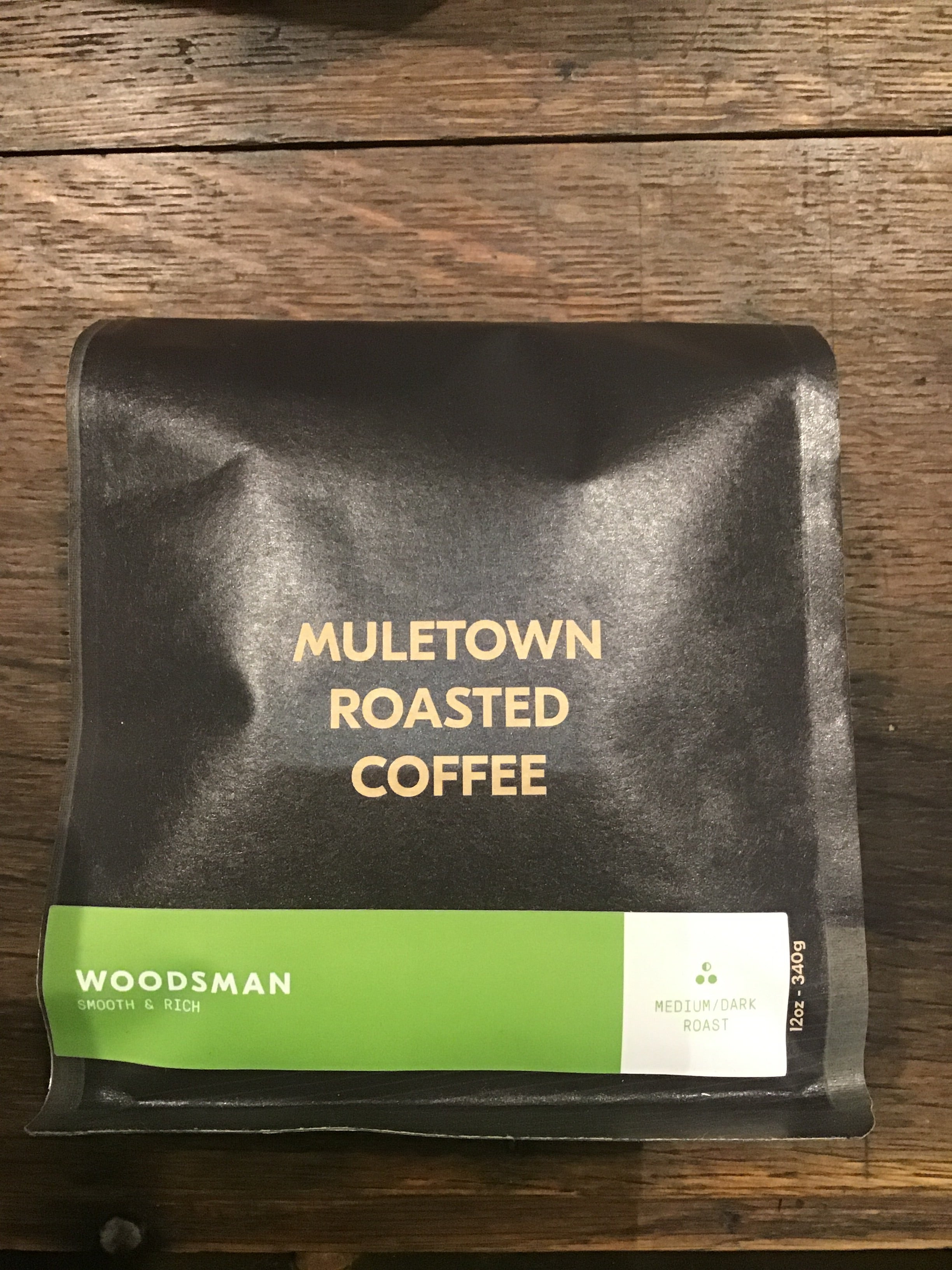 Muletown Coffee Woodsman