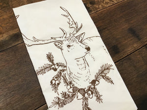 Christmas Deer Towel